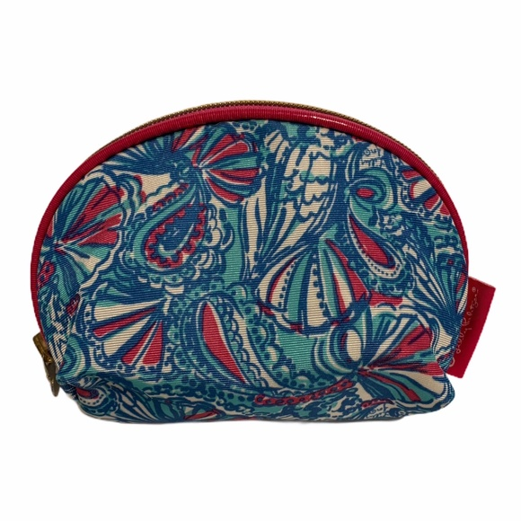 Lilly Pulitzer for Target Handbags - Lilly Pulitzer My Fans Print Round Top Travel Bag